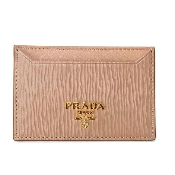 0a78e31b5395e6 Prada Bags | Leather Card Holder Wallet | Poshmark